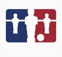 Major League Foosball (color) Kids Tee