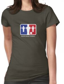 Major League Foosball (color) Womens Fitted T-Shirt