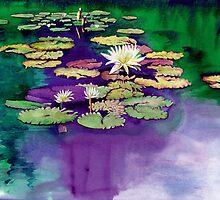 Secret Pond by Yvonne Carter
