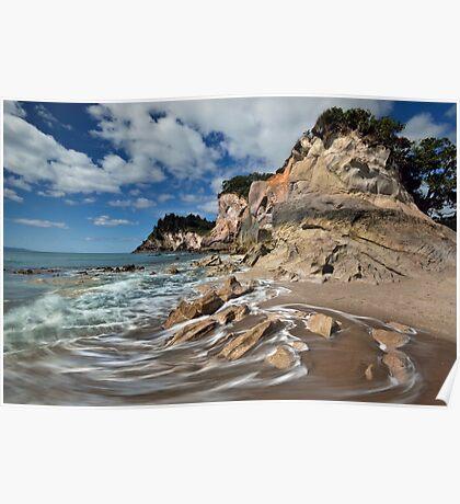 Otonga Point Rocks Poster