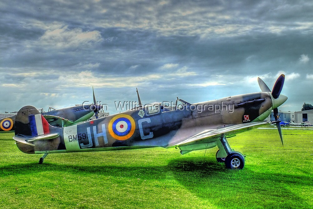 """JHC"" - Shoreham Airshow - HDR by Colin  Williams Photography"