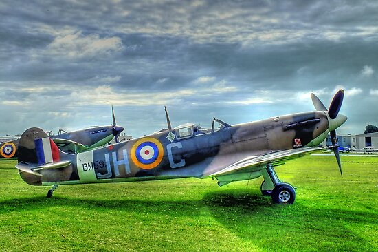 """JHC"" - Shoreham Airshow - HDR by Colin J Williams Photography"