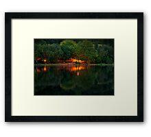 Mysterious Light Framed Print