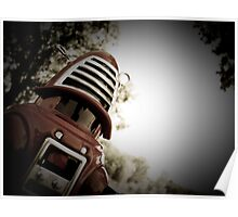 Retro Toy Robby Robot 01 Poster