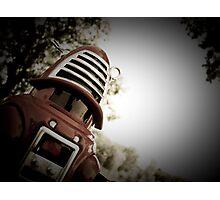 Retro Toy Robby Robot 01 Photographic Print