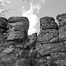 Random Rock Formation by Tracy Jansen
