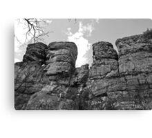 Random Rock Formation Canvas Print