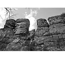 Random Rock Formation Photographic Print