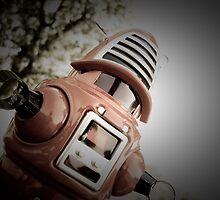Retro Toy Robby Robot 02 by mdkgraphics