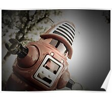 Retro Toy Robby Robot 02 Poster