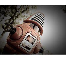 Retro Toy Robby Robot 02 Photographic Print