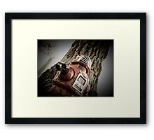 Retro Toy Robby Robot 03 Framed Print