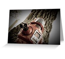 Retro Toy Robby Robot 03 Greeting Card