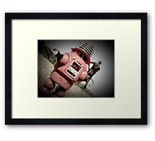 Retro Toy Robby Robot 04 Framed Print