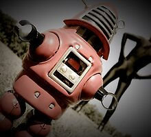 Retro Toy Robby Robot 05 by mdkgraphics