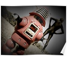 Retro Toy Robby Robot 05 Poster