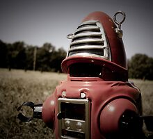 Retro Toy Robby Robot 06 by mdkgraphics