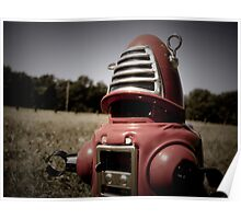 Retro Toy Robby Robot 06 Poster