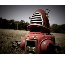 Retro Toy Robby Robot 06 Photographic Print