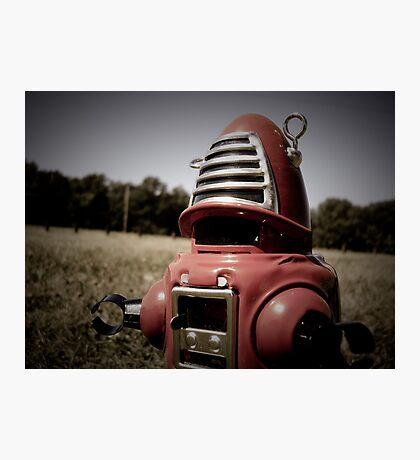 Retro Toy Robby Robot 06 Photographic Print