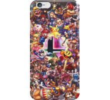 Smash Brothers iPhone Case/Skin