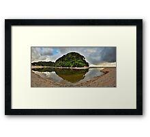 Whiritoa Lagoon Framed Print