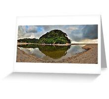 Whiritoa Lagoon Greeting Card