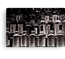"""The """"SCOTCH"""" Army: History in a bottle Canvas Print"""