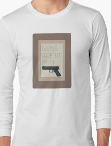 Rick and Morty: Guns Are'nt Fun Long Sleeve T-Shirt
