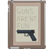 Rick and Morty: Guns Are'nt Fun iPad Case/Skin