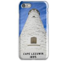 Cape Leeuwin lighthouse, Augusta, Western Australia iPhone Case/Skin