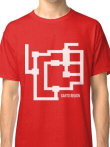 Kanto Region Map Classic T-Shirt