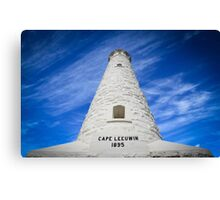 Cape Leeuwin lighthouse, Augusta, Western Australia Canvas Print