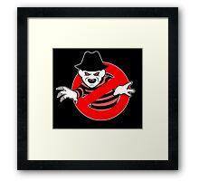 Ghostbusters (Freddy Krueger) Framed Print