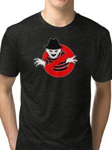 Ghostbusters (Freddy Krueger) Tri-blend T-Shirt