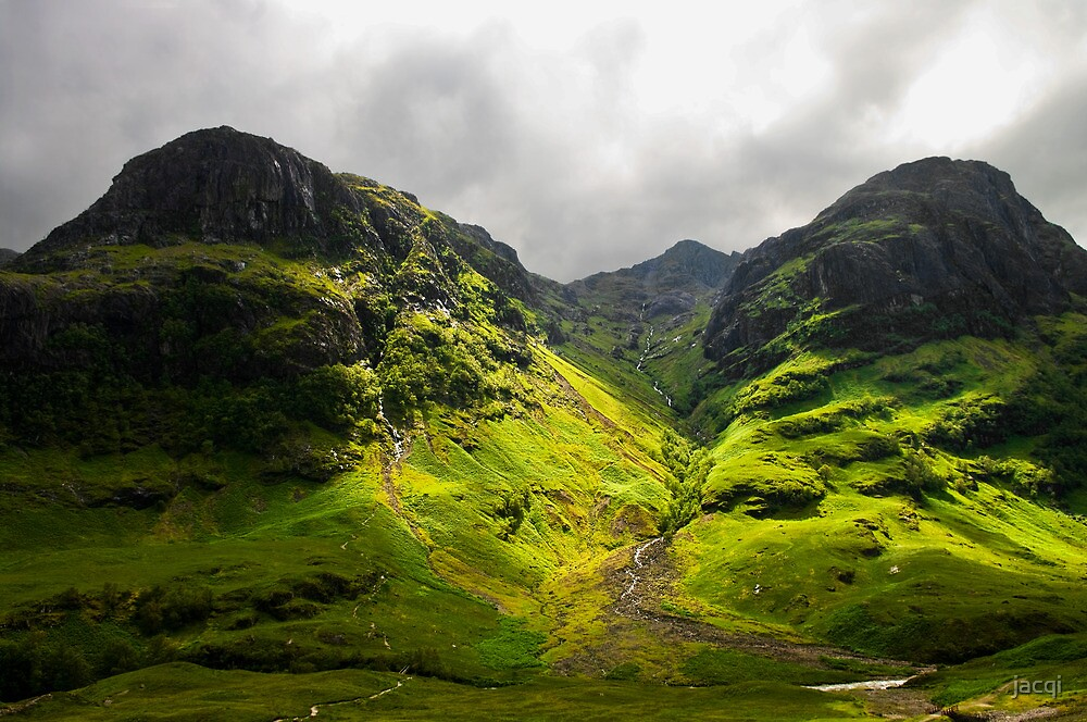 The Mountains of Glencoe by jacqi