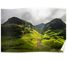 The Mountains of Glencoe Poster