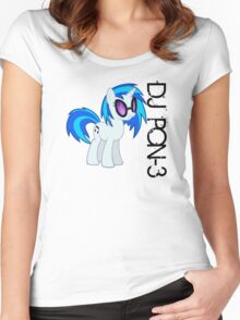 DJ PON-3 Women's Fitted Scoop T-Shirt
