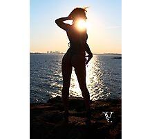 kori sunset Photographic Print