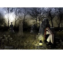 The Graveyard Ghost Photographic Print