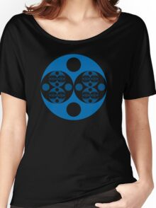 Fractal Circle Pattern Women's Relaxed Fit T-Shirt