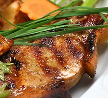 Grilled Pigling Cutlet by SmoothBreeze7
