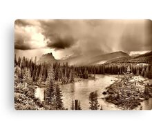 Bow River Along the Icefield Parkway Canvas Print