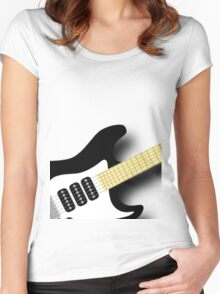 Air Guitar Women's Fitted Scoop T-Shirt