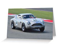 1961 Aston Martin DB4 GT Zagato Greeting Card