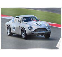 1961 Aston Martin DB4 GT Zagato Poster
