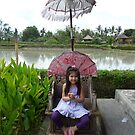 Milly in Bali by Cathie Brooker
