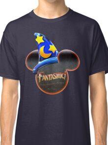 Fantasmic! - Metallic Mouse Ears, Hat, and Logo Design Classic T-Shirt