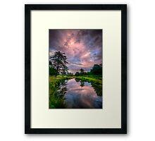 Pink Flow Framed Print