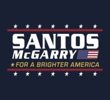 Santos McGarry for a brighter America T-Shirt